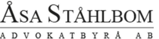 Åsa Ståhlbom Advokatbyrå AB logo
