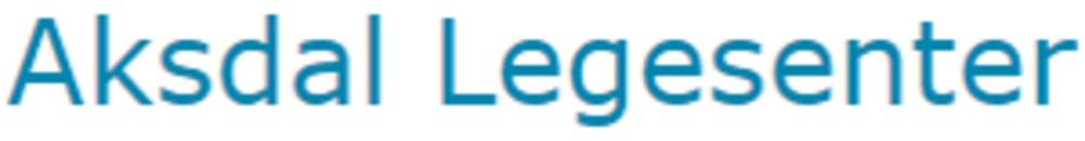 Aksdal Legesenter logo