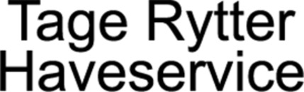 Tage Rytter - Haveservice logo