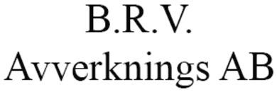 B.R.V. Avverknings AB logo