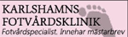Karlshamns Fotvårdsklinik logo