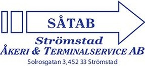 Strömstad Åkeri & Terminalservice logo