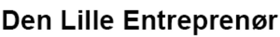 Den Lille Entreprenør logo