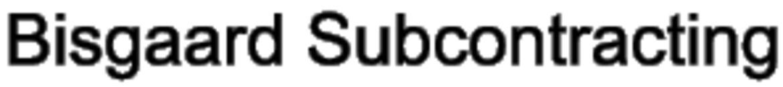 Bisgaard Subcontracting logo