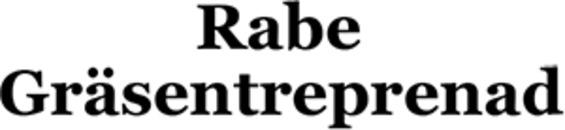 Rabe Gräsentreprenad logo