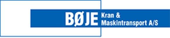 Bøje Kran- og Maskintransport A/S logo