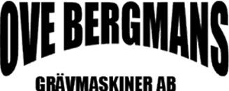 Ove Bergmans Grävmaskiner AB logo
