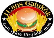 11:ans Gatukök & Grill logo