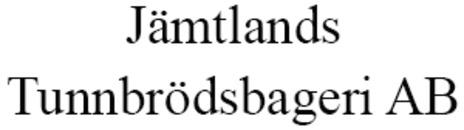 Jämtlands Tunnbrödsbageri AB logo