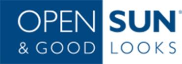Open Sun drop in solarium logo