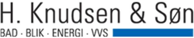 Autoriseret vvs-installatør H. Knudsen & Søn ApS logo