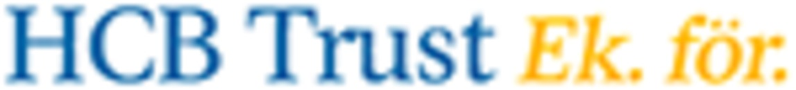 HCB TRUST Ek. för. logo