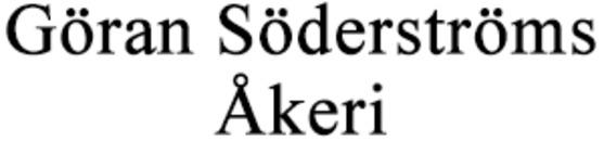 Söderströms Åkeri, Göran logo