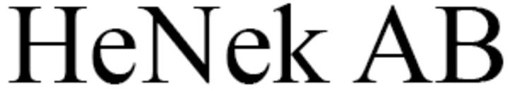 HeNek AB logo