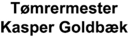 Tømrermester Kasper Goldbæk logo