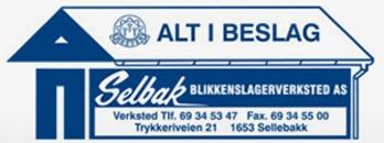 Selbak Blikkenslagerverksted A/S logo