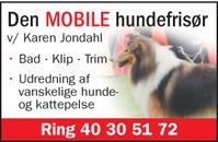 Jondahl - Den mobile hundefrisør logo
