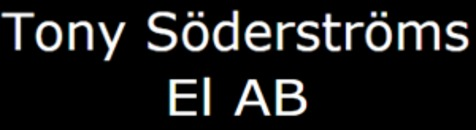 Söderströms el AB, Tony logo
