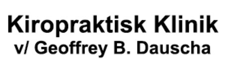 Kiropraktisk Klinik  v/ Geoffrey B. Dauscha logo