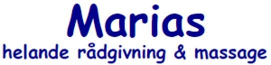 Marias Helande Rådgivning o. Massage logo