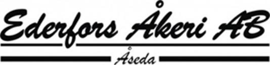 Ederfors Åkeri AB logo