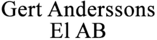 Anderssons El AB, Gert logo