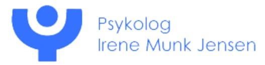 Psykolog Irene Munk Jensen logo