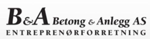 Betong & Anlegg AS logo