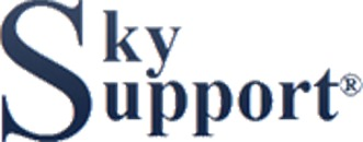 Sky Support logo