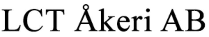 LCT Åkeri AB logo