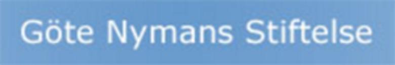 Göte Nymans Stiftelse För Idrottsmän och Kvinnor logo
