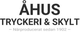 Åhus-tryckeriet AB logo