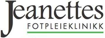 Jeanettes fotpleieklinikk logo