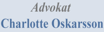 Advokat Charlotte Oskarsson logo