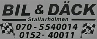 Bil & Däck i Stallarholmen logo