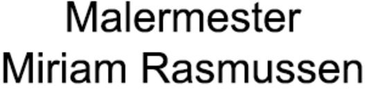 Malermester Miriam Rasmussen logo