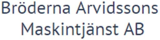 Bröderna Arvidssons Maskintjänst AB logo