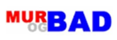 Mur og Bad AS logo