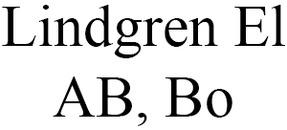 Lindgren El AB, Bo logo