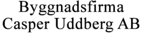 Byggnadsfirma Casper Uddberg AB logo