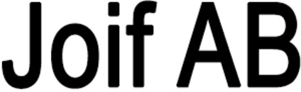 Joif AB logo