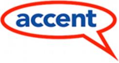 Accent Språkservice logo