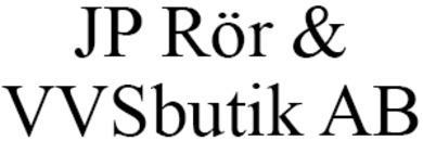 JP Rör & VVS AB logo