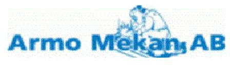 Armo Mekan AB logo