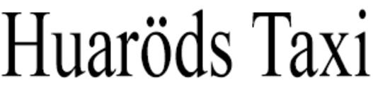 Huaröds Taxi logo