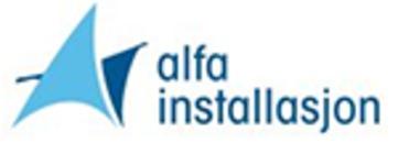 Alfa Installasjon AS logo