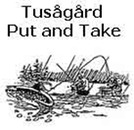 Tusågård Put and Take logo