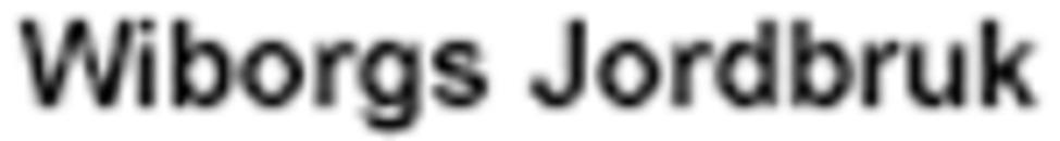 Wiborgs Jordbruk logo