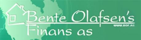 Bente Olafsen's Finans AS logo