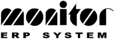 Monitor ERP System AB logo